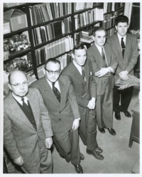 Photo: The Botany Dept. circa 1956.