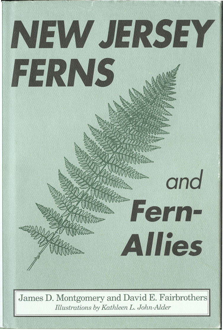 Photo: New Jersey Ferns and Fern-Allies Book Cover.